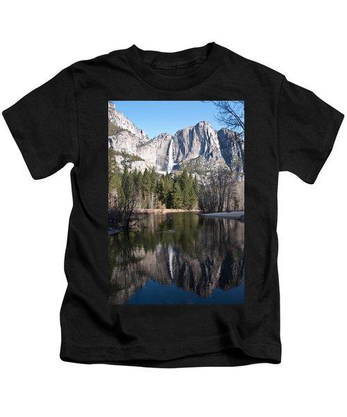 Upper Yosemite Fall Kids T-Shirt
