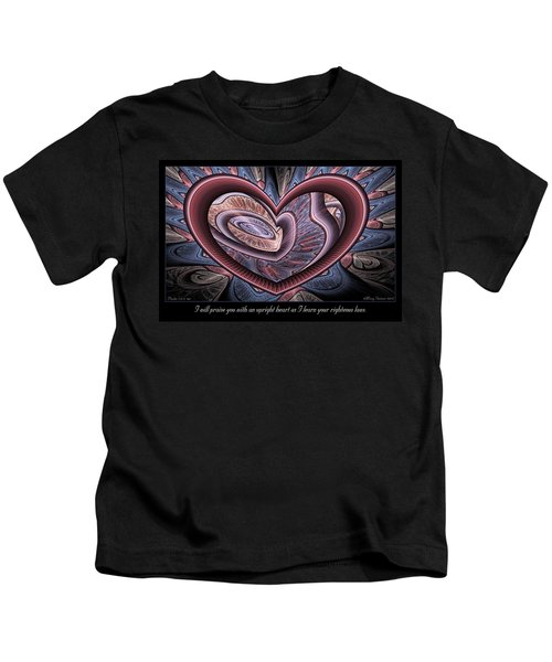Upright Heart Kids T-Shirt