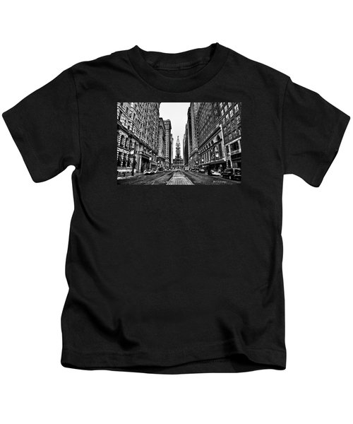 Urban Canyon - Philadelphia City Hall Kids T-Shirt