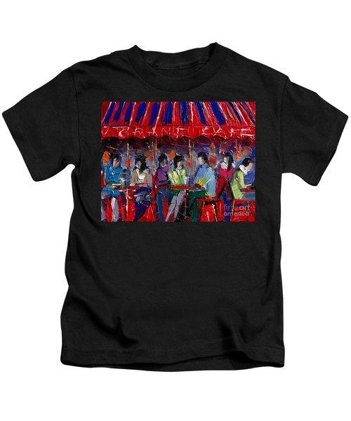 Urban Story - Grand Cafe Kids T-Shirt