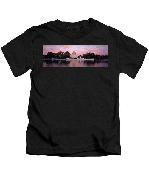 Us Capitol Washington Dc Kids T-Shirt