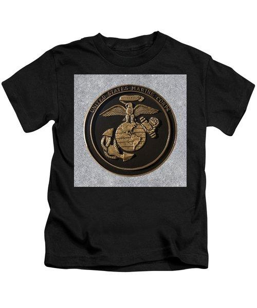 Us Marine Corps Kids T-Shirt