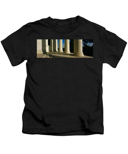 Usa, District Of Columbia, Jefferson Kids T-Shirt by Panoramic Images