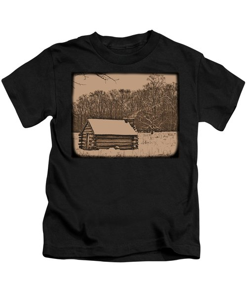 Valley Forge Winter 1 Kids T-Shirt