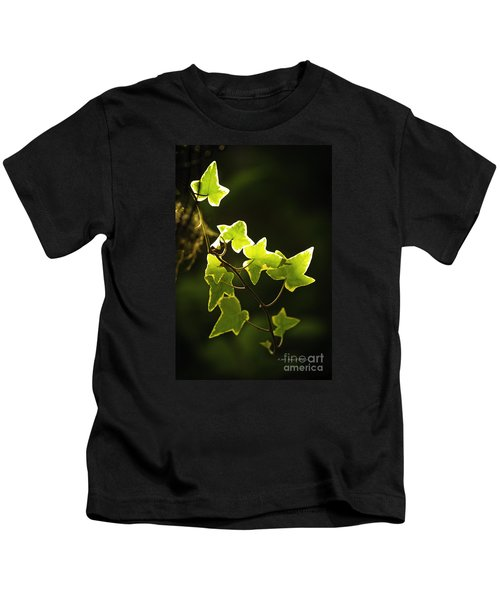 Variegated Vine Kids T-Shirt
