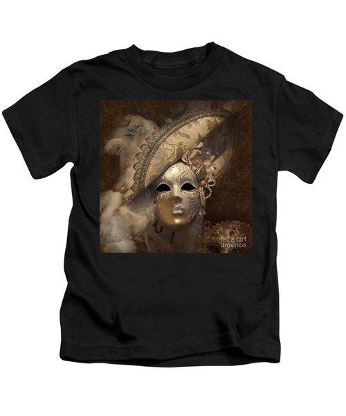 Venetian Face Mask F Kids T-Shirt