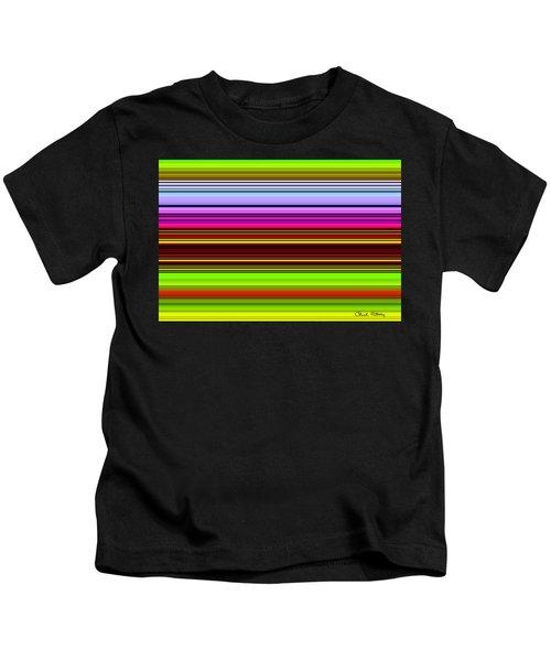 Venice Flower Abstract Kids T-Shirt