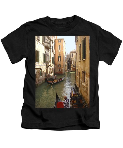 Venice Gondolas Kids T-Shirt