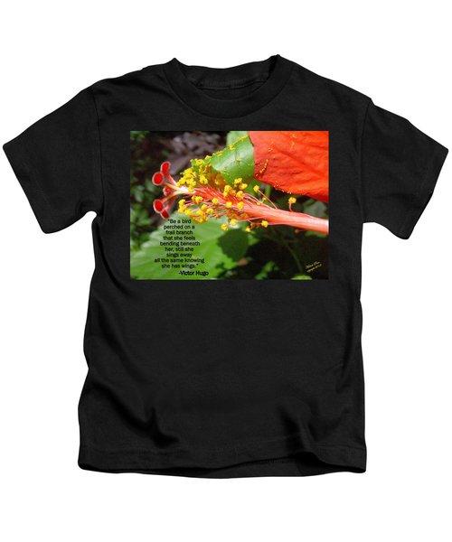 Victor Hugo Kids T-Shirt