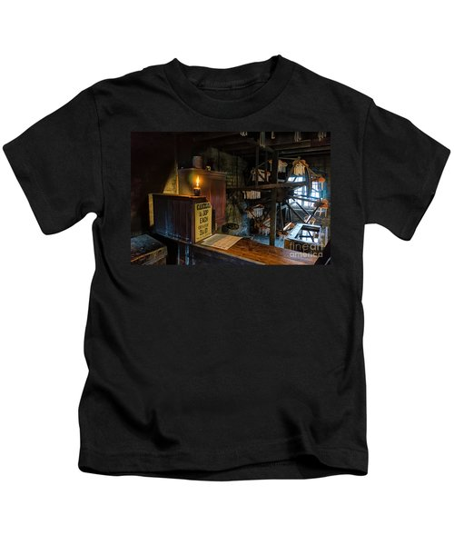 Victorian Candle Factory Kids T-Shirt