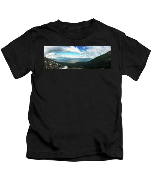 View From Martial Glacier, Ushuaia Kids T-Shirt