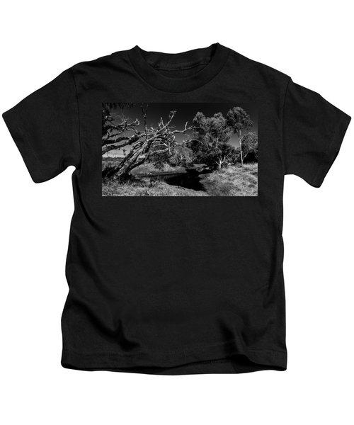 View Over North Lake Kids T-Shirt