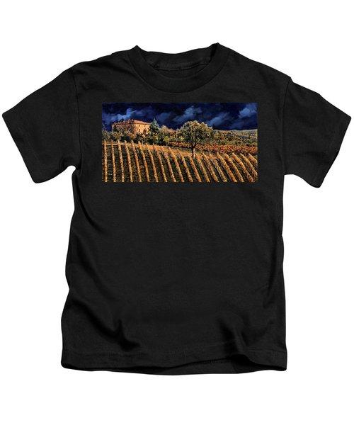 Vigne Orizzontali Kids T-Shirt