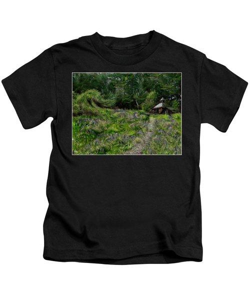 A Lupine Tale  Vincents View Kids T-Shirt