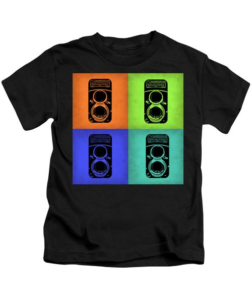 Vintage Camera Pop Art 1 Kids T-Shirt