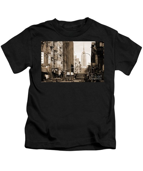 Vintage Chinatown And Empire State Kids T-Shirt