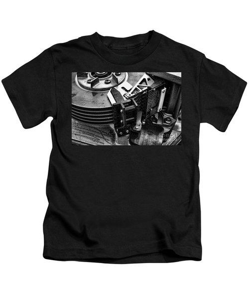 Vintage Hard Drive Kids T-Shirt