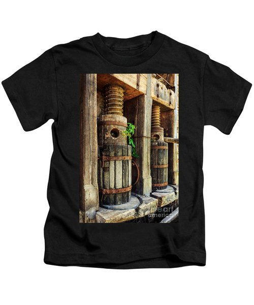 Vintage Wine Press Kids T-Shirt