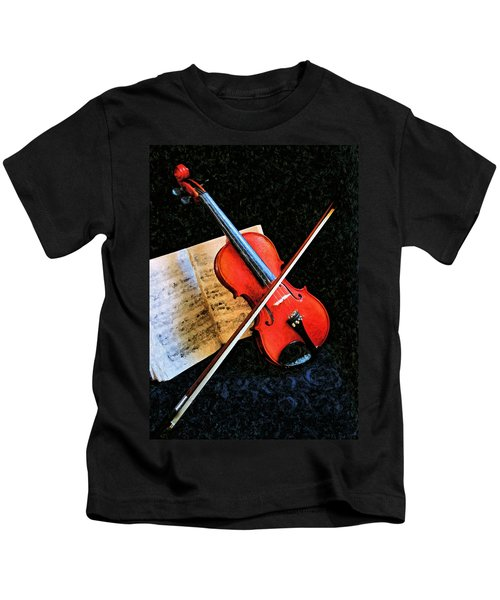 Violin Impression Redux Kids T-Shirt