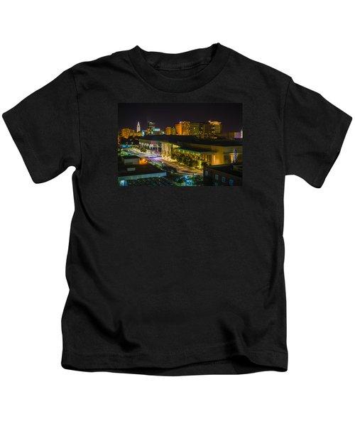 Vividly Downtown Baton Rouge Kids T-Shirt