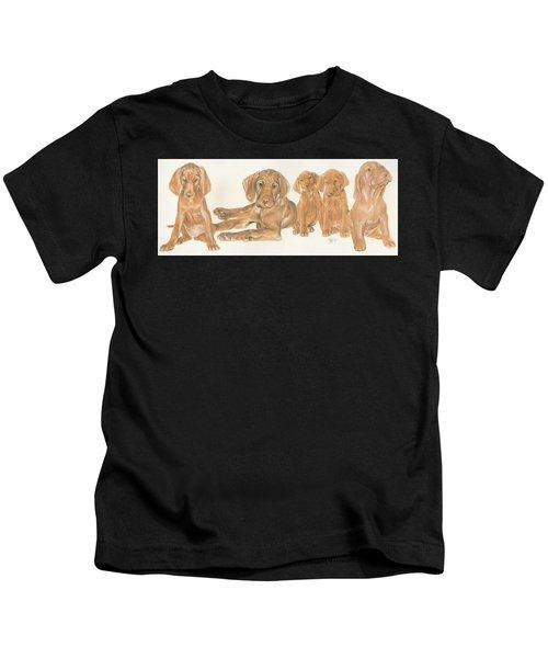Vizsla Puppies Kids T-Shirt