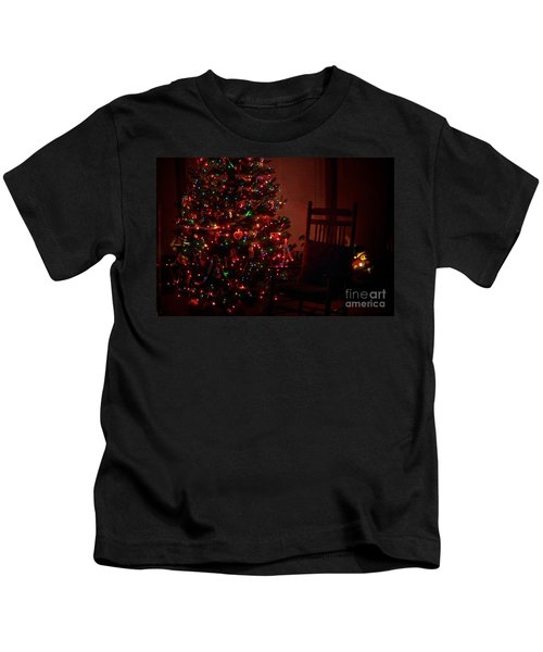Waiting For Christmas Kids T-Shirt