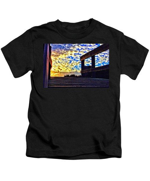 Walkway To Heaven Kids T-Shirt