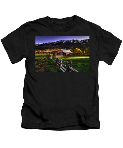 Wallsburg Red Barn Kids T-Shirt