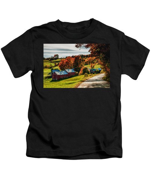 Wandering Down The Road Kids T-Shirt