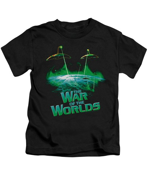 War Worlds - Global Attack Kids T-Shirt
