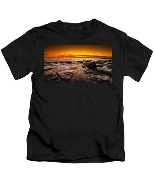 Warm Summer Glow  Kids T-Shirt