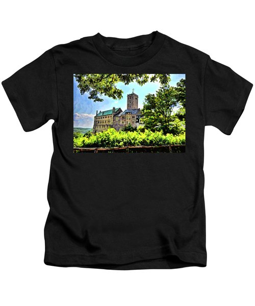 Wartburg Castle - Eisenach Germany - 1 Kids T-Shirt