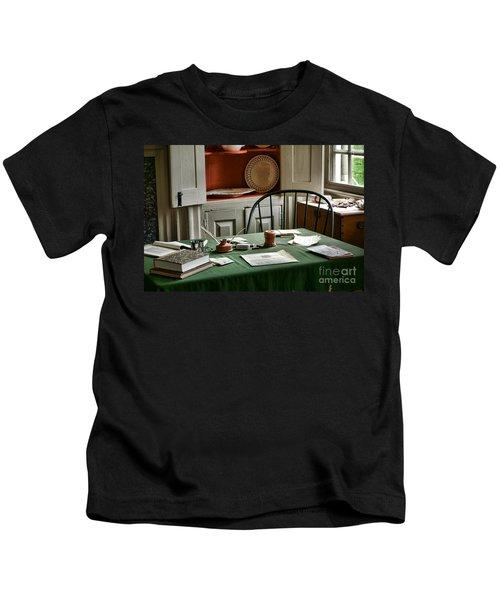 Washington Wrote Here Kids T-Shirt