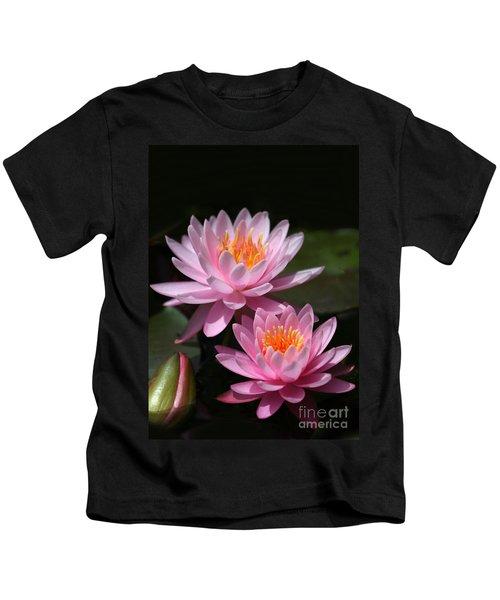 Water Lilies Love The Sun Kids T-Shirt