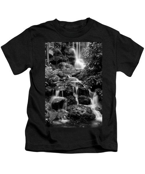 Waterfall At Rainbow Springs Kids T-Shirt