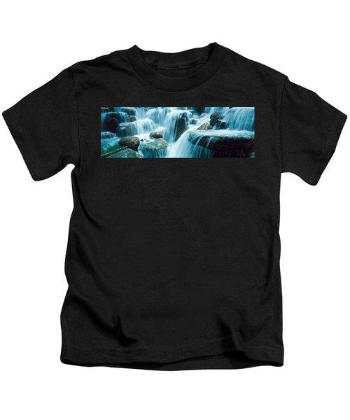 Waterfall Temecula Ca Usa Kids T-Shirt