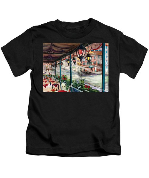 Waterfront Cafe Kids T-Shirt