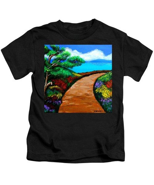 Way To The Sea Kids T-Shirt