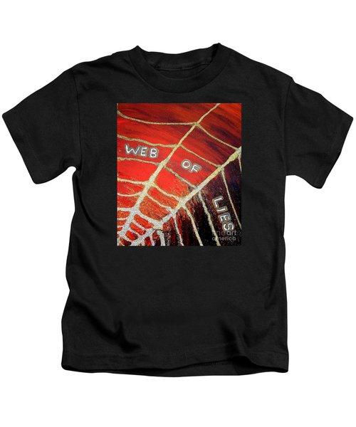 Web Of Lies Kids T-Shirt