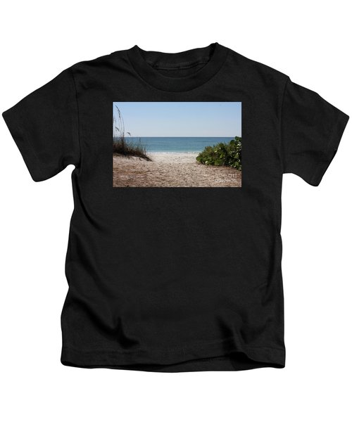 Welcome To The Beach Kids T-Shirt