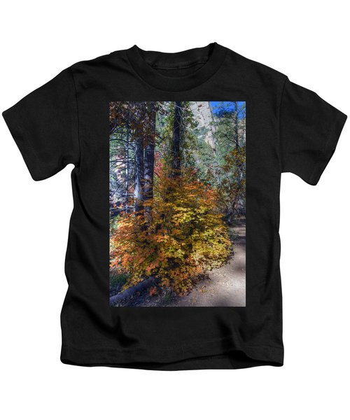 West Fork Fall Color Kids T-Shirt