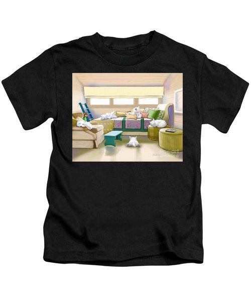 Westie Retreat  Kids T-Shirt