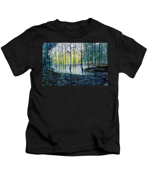 Wetlands On Skipwith Common Kids T-Shirt
