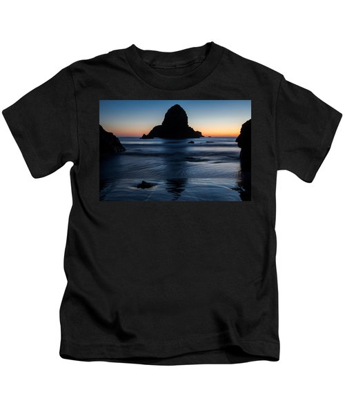 Whaleshead Beach Sunset Kids T-Shirt