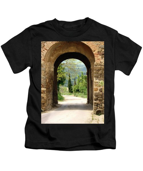 What Lies Ahead Kids T-Shirt