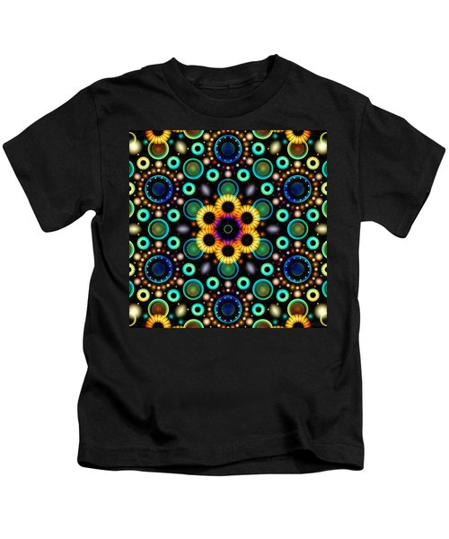 Wheels Of Light Kids T-Shirt