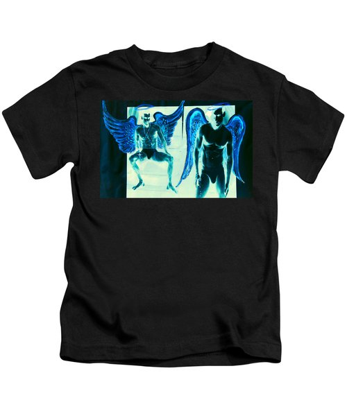 When Heaven And Earth Collide Series Kids T-Shirt