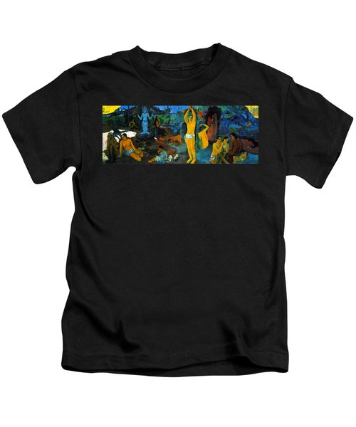 Where Do We Come From. What Are We Doing. Where Are We Going Kids T-Shirt