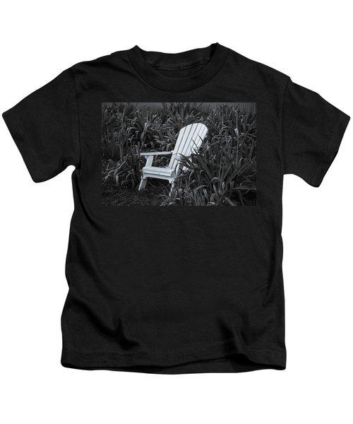 White Chair Kids T-Shirt