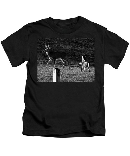 White Tailed Deer Kids T-Shirt